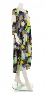 Multicolour Flared Dress