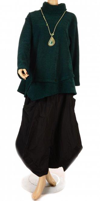 e23db4e6ada7 Turbulence Snuggly Green Soft Fleece Swing Tunic - Clothing from ...