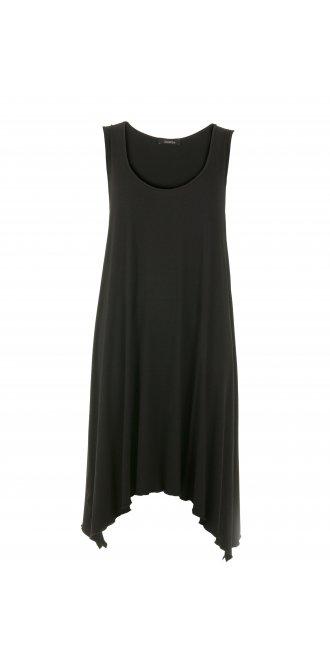 Idaretobe Exclusive Black Linen Dress from idaretobe