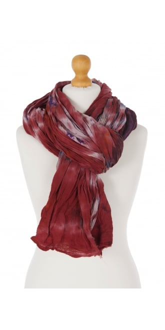 Privatsachen Red and Purple Huge Crush Scarf