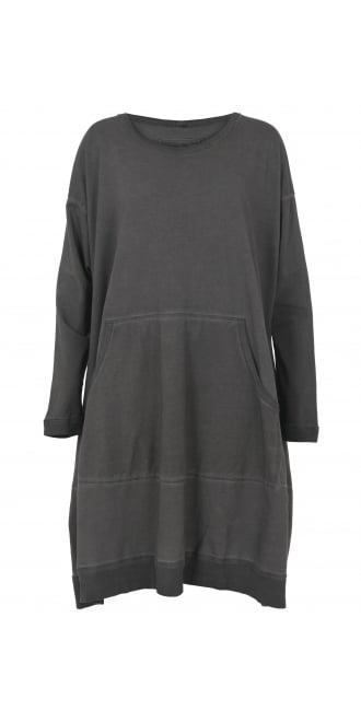 Rundholz Black Label Shark Oversized Sweatshirt Dress