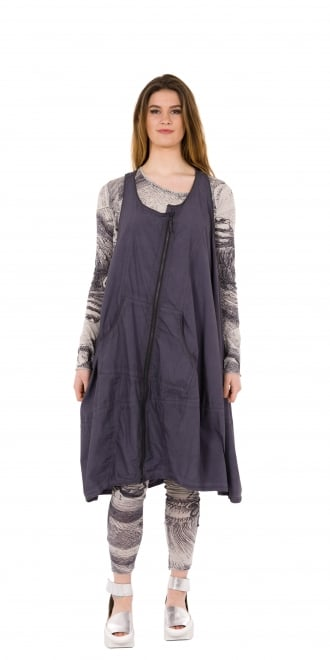 Rundholz Black Label Atlantic Oversized Zip Dress