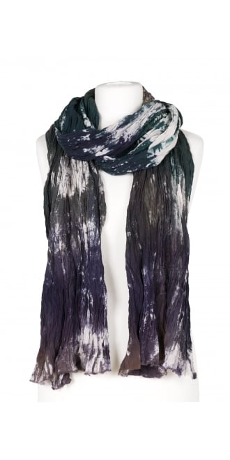 Privatsachen Green/Purple Crush Scarf