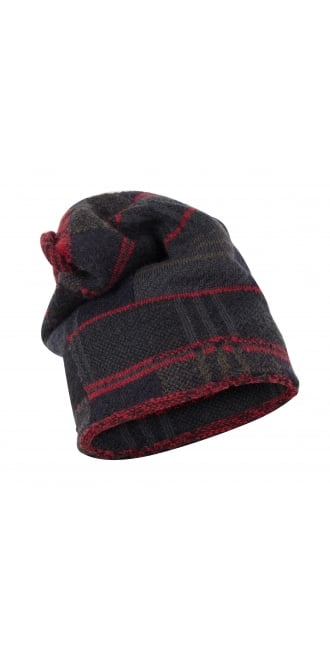 Rundholz Black Label Tartan Mix Knitted Cap