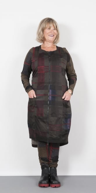 Rundholz Black Label Checked One Size Dress
