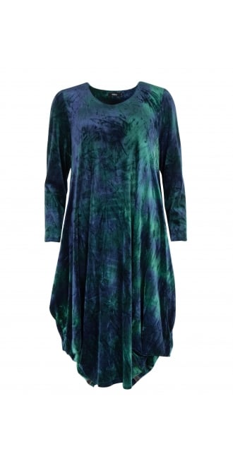 Ralston Velvet Blue Tone Utas Dress