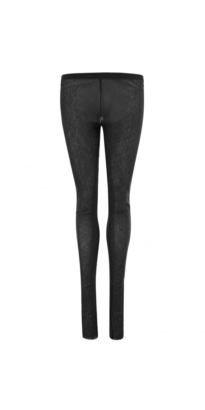 Rundholz Mainline Black Mesh Leggings