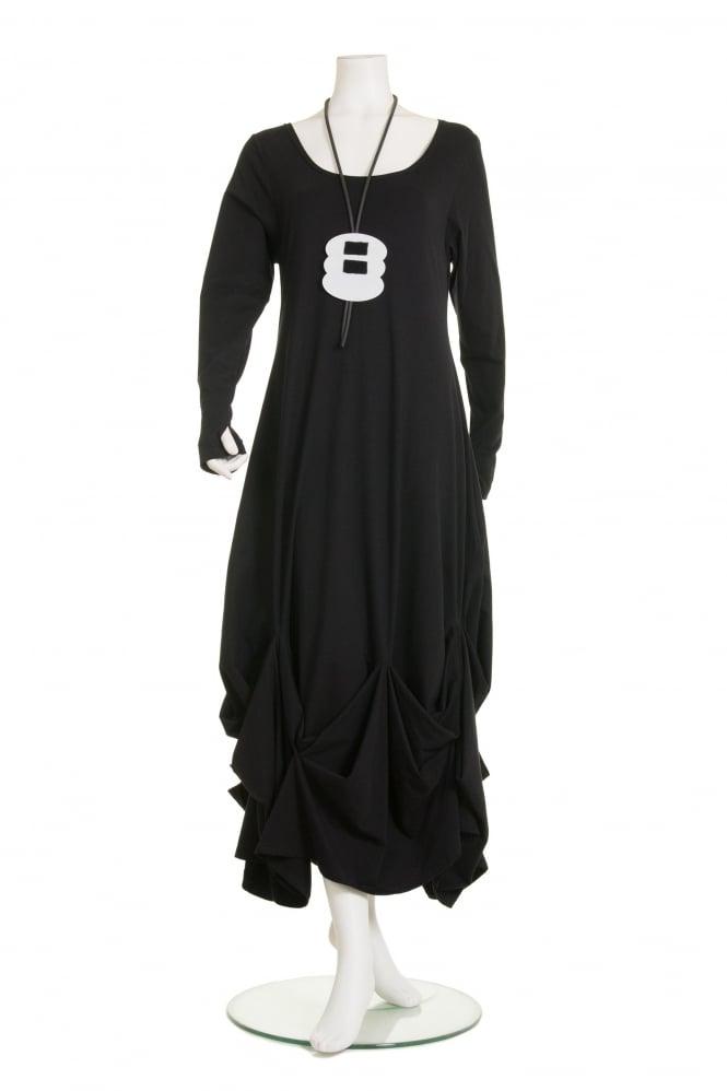 AKH Black Triangle Oversized Coat | idaretobe