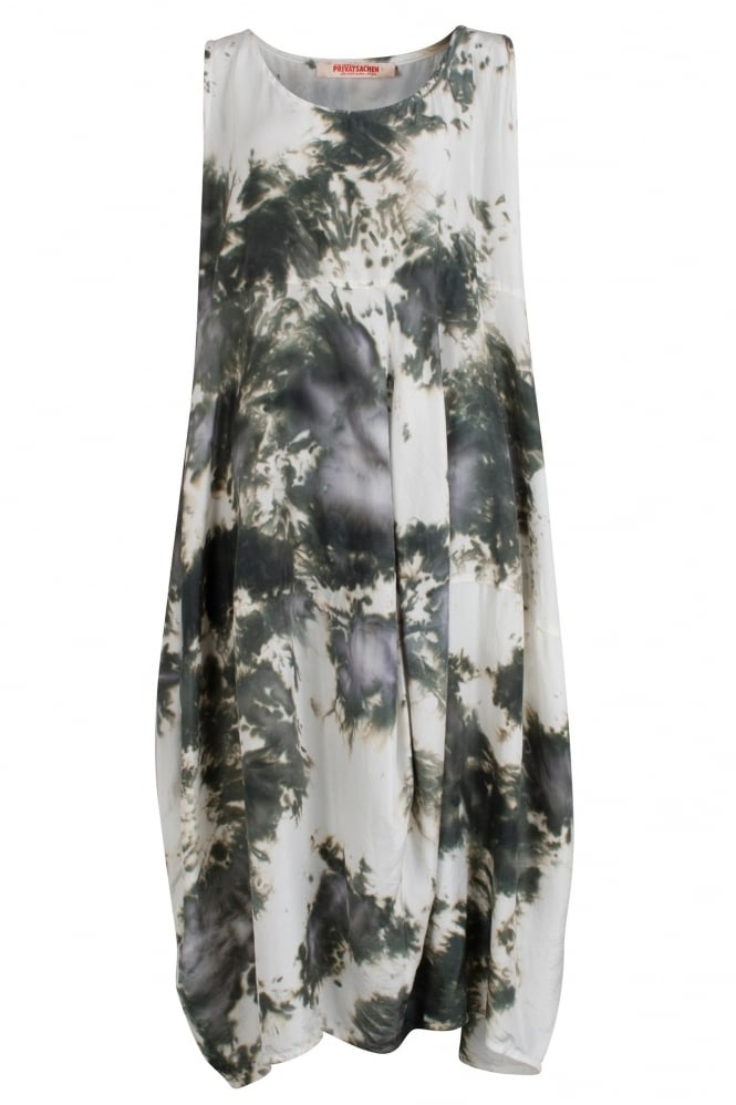 Privatsachen Teich Hand-Dyed Silk Dress