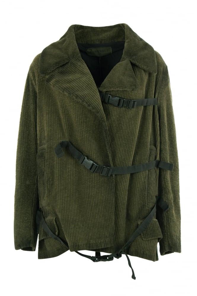 Olive Green Corduroy Jacket