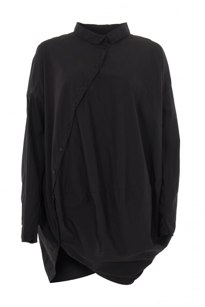 Rundholz Dip Black Crisp Twisted Shirt