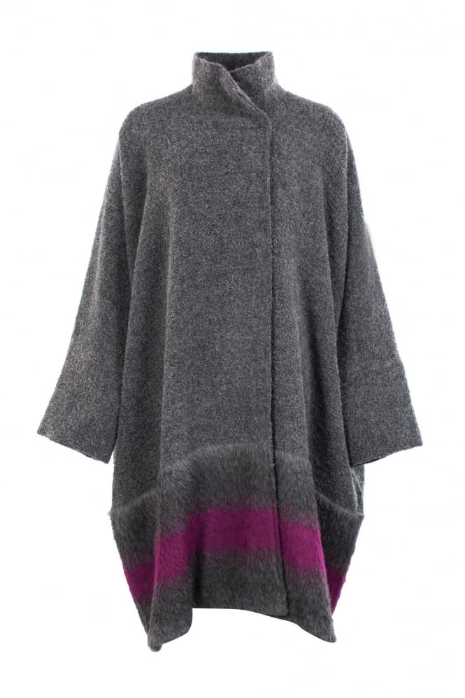 Igor Dobranic Arabella Grey Wool Coat
