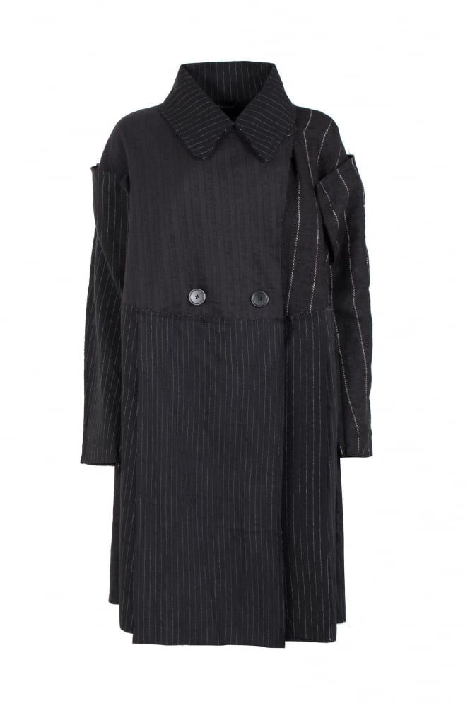 Rundholz Mainline Statement Stripe Oversize Coat