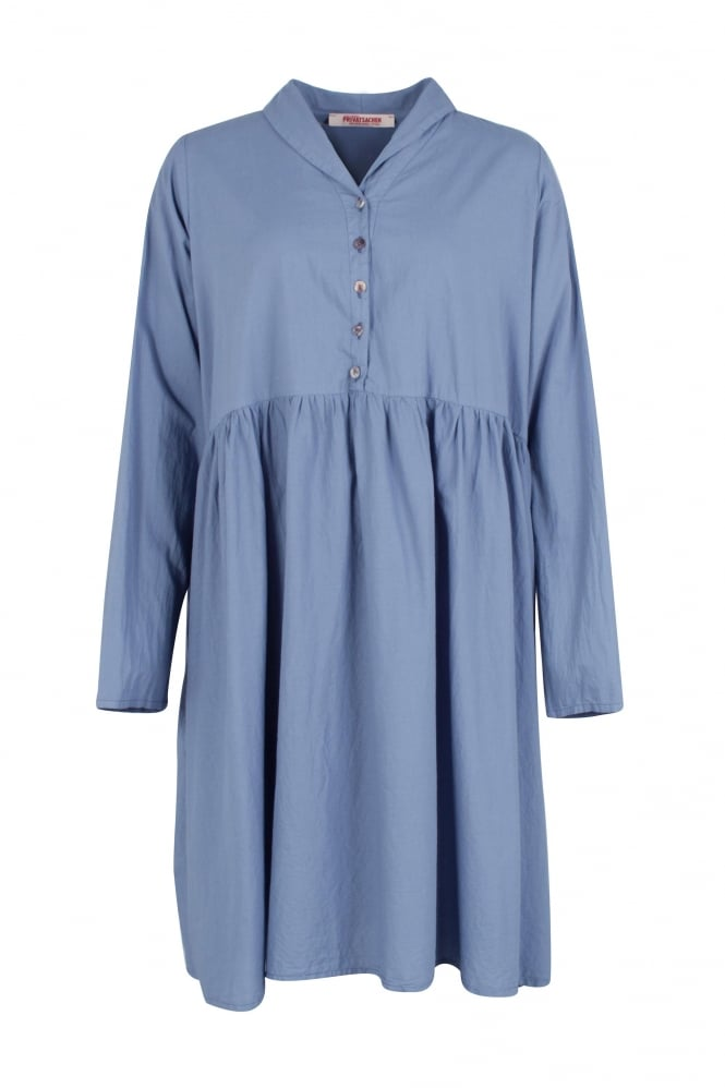 Privatsachen Devon Cotton Pleat Dress