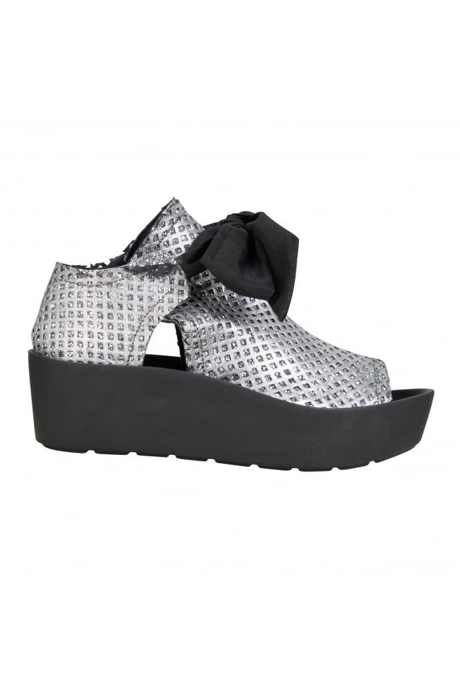 Arya Silver Sandals