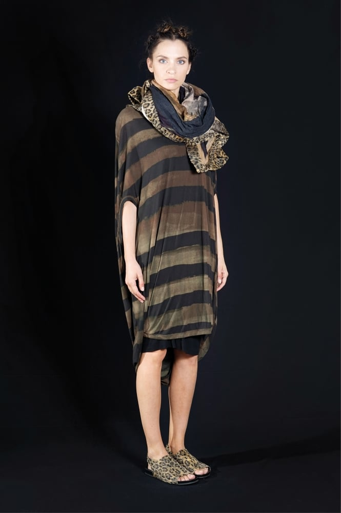 Rundholz Mainline Saphir Stripe Dress