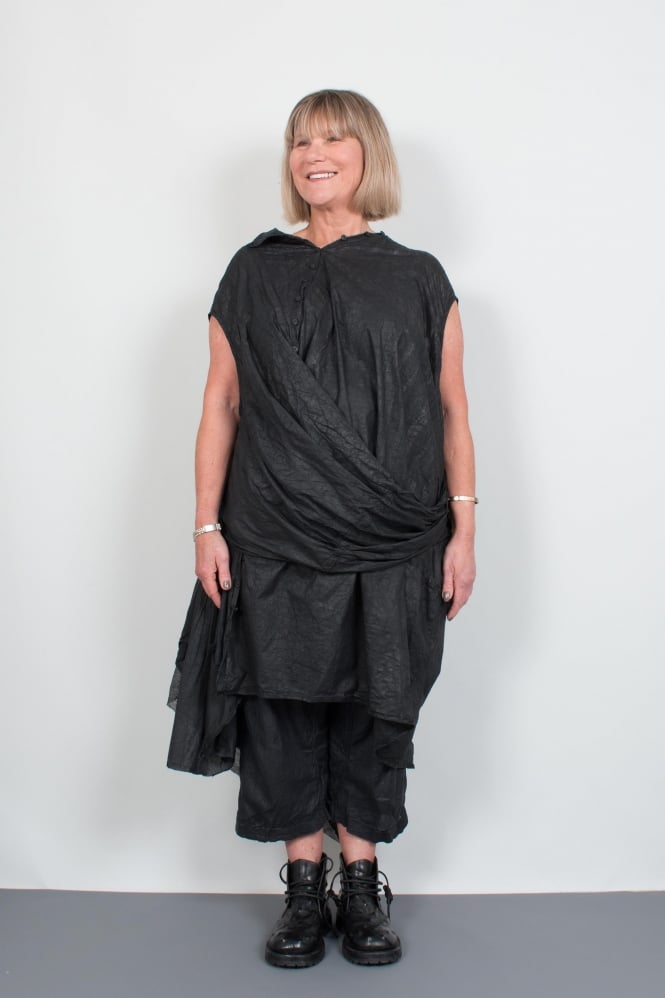 Rundholz Dip Black Deconstructed Tunic/Dress