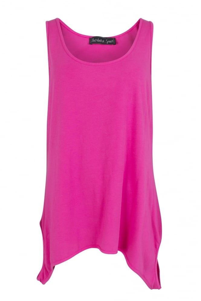Barbara Speer Pink Bio-Cotton Jersey Top
