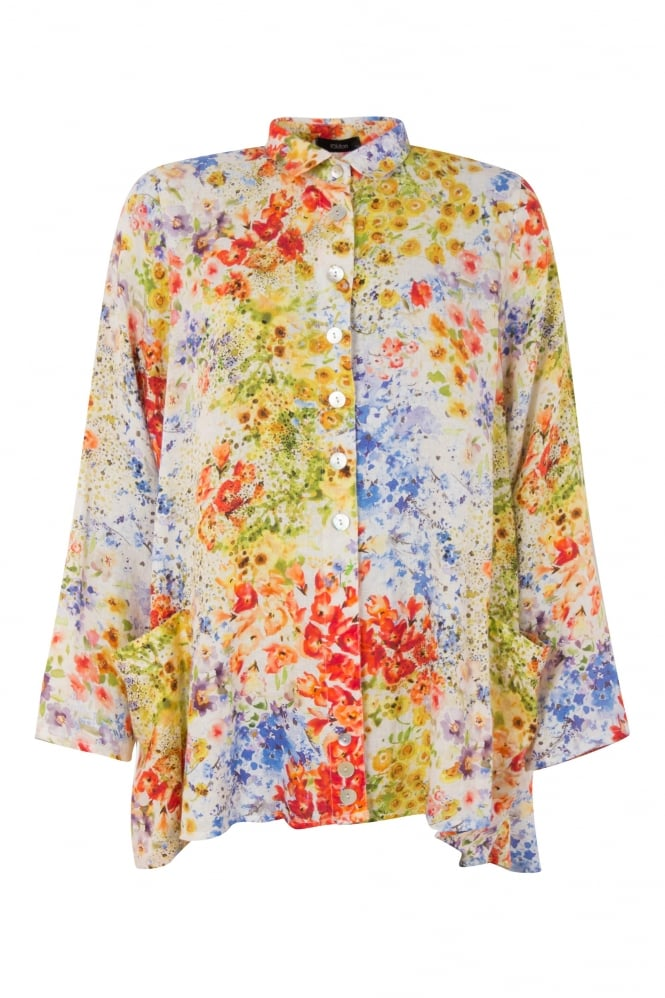 Ralston Floral Wally Linen Shirt