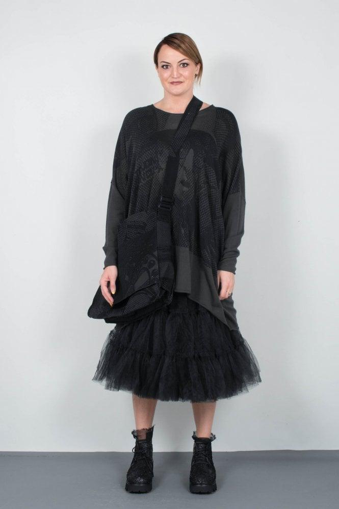 5ee508c9035de7 Rundholz Black Label Anthra Print Bag 3322516