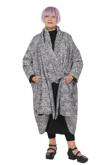 Oversized Architectural Coat
