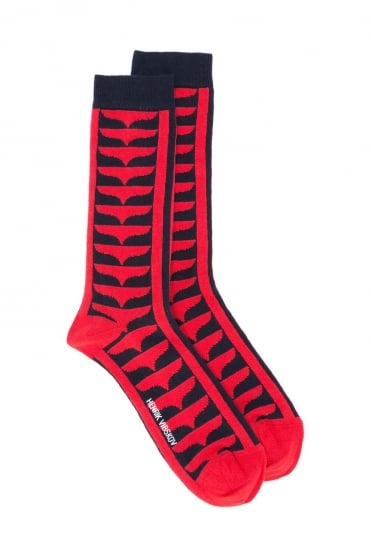 Red Root Socks