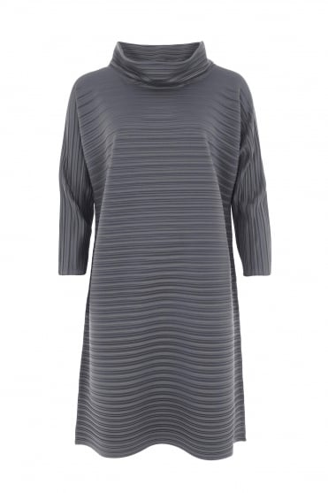 Platinum Pleat Tunic