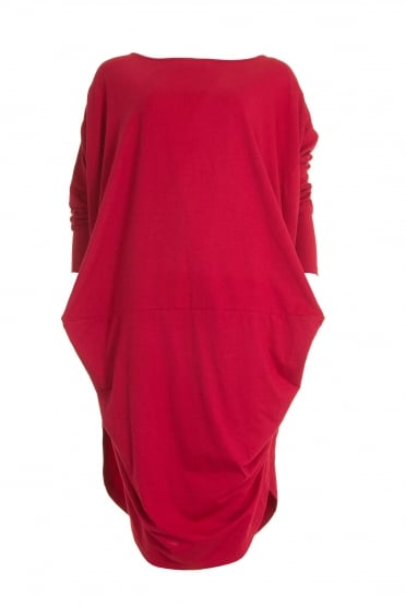 Exclusive Red Cube Tunic