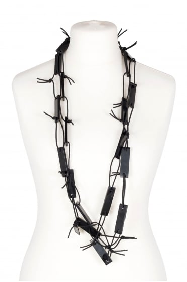Black Multiwear Necklace
