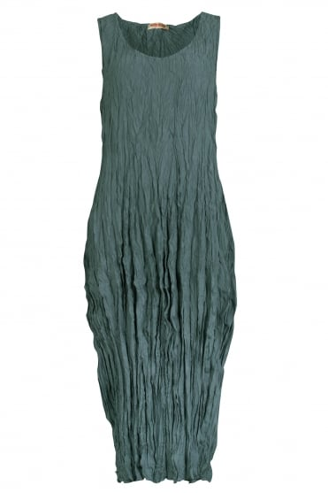 Teich Licht Silk Tulip Dress