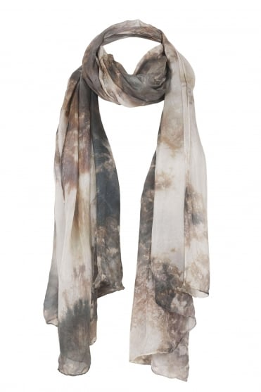 Kunst Hand Dyed Silk Scarf