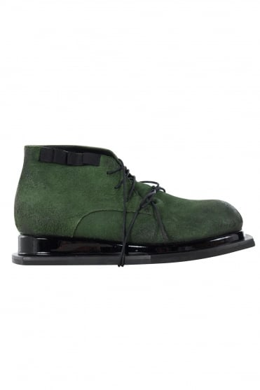 Burnished Green Boot