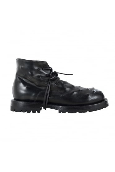 Ghost Black Leather Boot
