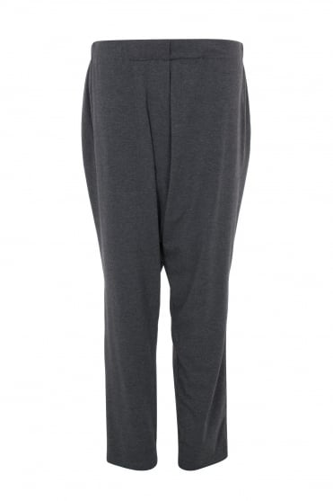 Nico Grey Marl Jersey Trouser