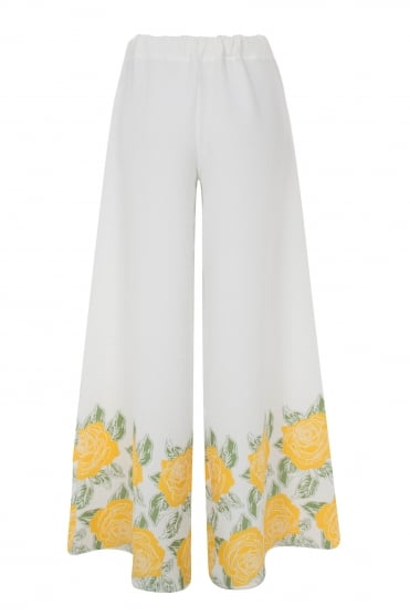 Yellow Roses Trouser