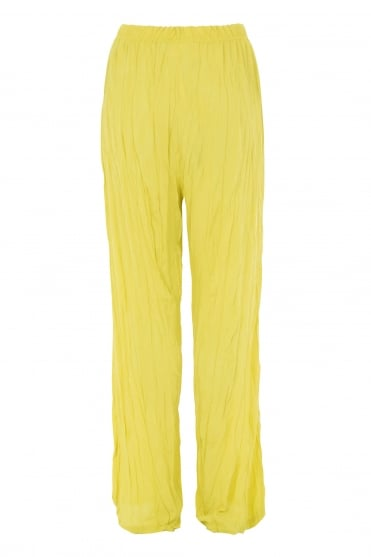 Chartreuse Crush Trouser