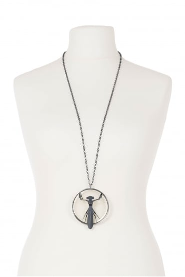 Statement Mantis Necklace