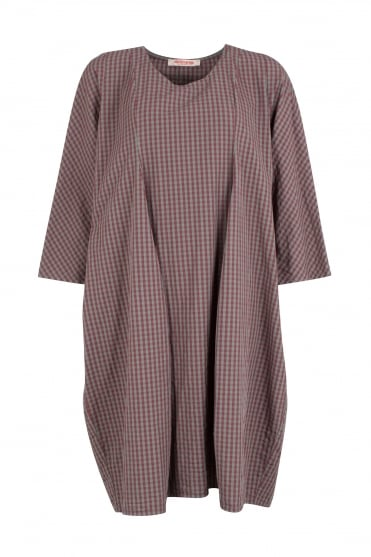 Teich Check Cotton Dress