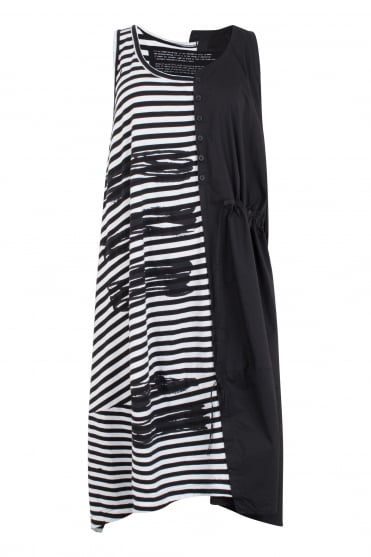 Stripe & Squiggle One-Size Dress