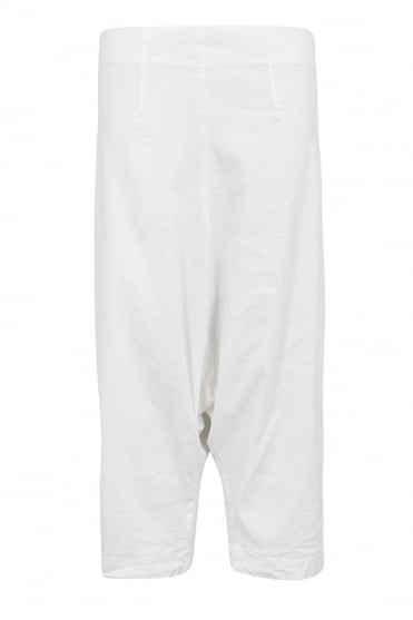 White Feature Stripe Trouser