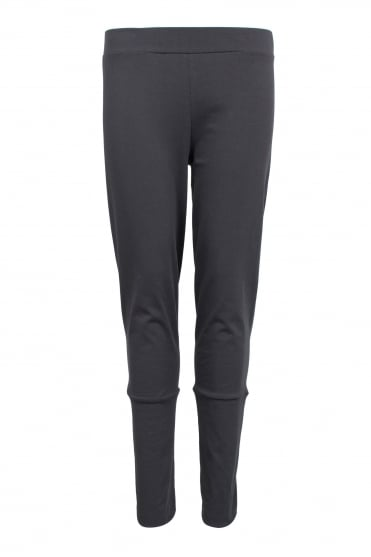 Grey Stretch Jersey Trouser