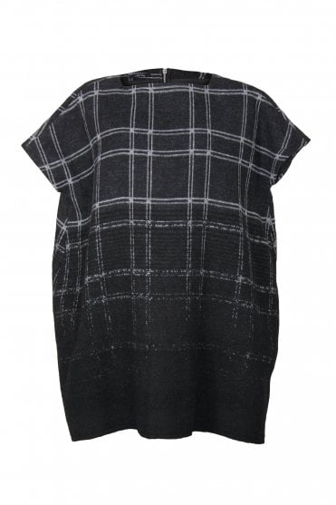 6f21439c32 Grey Check Wool-Blend Dress · Nuovo Borgo ...