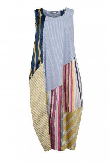 81c935859f47 Multicolour Mix Stripe Dress